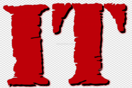 IT Movie Pennywise Logo PNG File