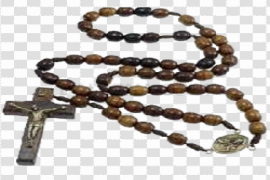 Rosary Beads Free PNG Image