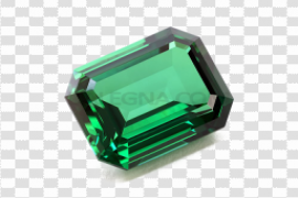 Emerald Stone PNG Transparent Picture