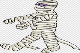Scary Mummy PNG Transparent Image