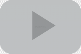 YouTube Play Button PNG Transparent Image