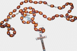 Holy Rosary PNG Transparent Image