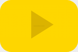 YouTube Play Button PNG Pic