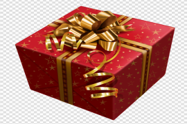 Christmas Gift Transparent Background