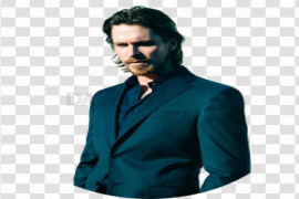 Christian Bale PNG File