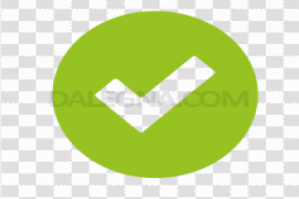 Green Tick PNG Pic
