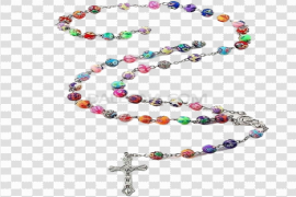 Rosary Beads PNG Image Background