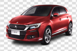 Red Citroen PNG Image