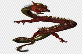 Realistic Dragon PNG Pic