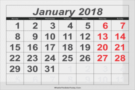 January PNG Clipart