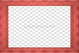 Red Border Frame PNG Pic