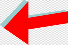Red Arrow PNG Pic
