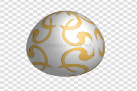 Gold Easter Egg PNG Picture