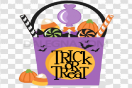 Halloween Trick Or Treat Transparent Images PNG