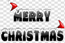Happy Christmas Text PNG Free Download