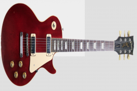 Red Guitar PNG Clipart