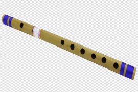 Wooden Bamboo Flute Musical Transparent PNG