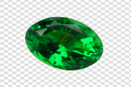 Round Emerald Stone PNG Clipart