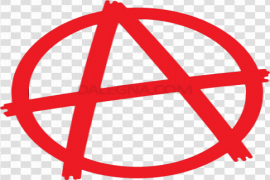 Red Anarchy PNG Free Download
