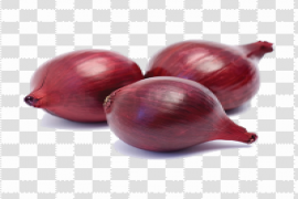 Red Onion PNG Transparent Image