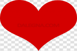 Valentines Day Heart Red PNG