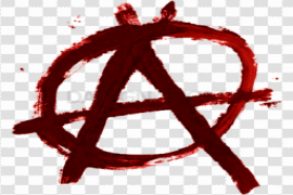 Red Anarchy Transparent Background