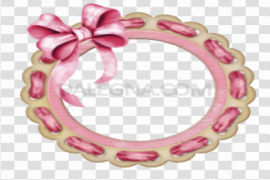 Round Frame PNG Photo