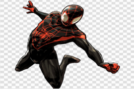 Spider-Man Into The Spider-Verse Download PNG Image