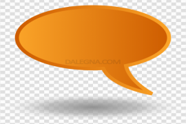 Colorful Chat Bubble PNG Clipart