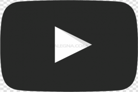 YouTube Play Button PNG HD