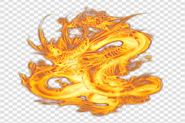Dragon Fire PNG Image