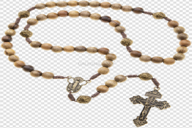 Rosary Beads PNG High-Quality Image