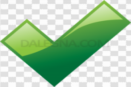 Green Tick PNG Transparent Picture