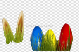 Easter Egg Grass PNG Free Download