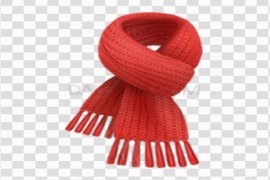 Red Scarf PNG Free Download