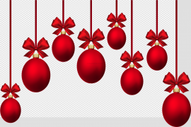 Christmas Bauble PNG HD