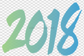2018 Happy New Year PNG Transparent Picture
