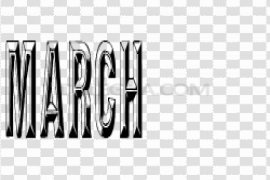 March PNG HD