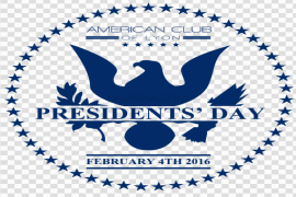 Presidents Day PNG Transparent Image