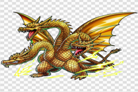 Ghidorah PNG Background Image
