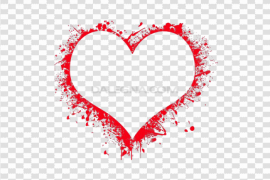 Heart Frame PNG Pic