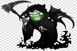 Grim Reaper PNG Picture