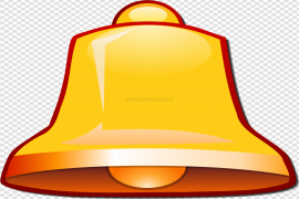 YouTube Bell Icon PNG Transparent Image