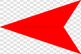 Red Left Arrow PNG File