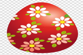 Red Easter Egg PNG Pic