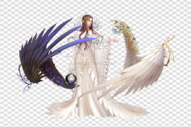 Fantasy Angel PNG Clipart