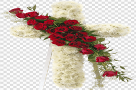 Funeral Flowers PNG Transparent Image