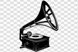 Gramophone Background PNG