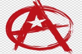 Red Anarchy PNG Pic