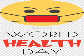 World Health Day Badge PNG Picture